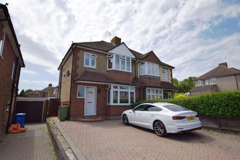3 Bedrooms Semi Detached House for sale in Orchard Way, Aldershot