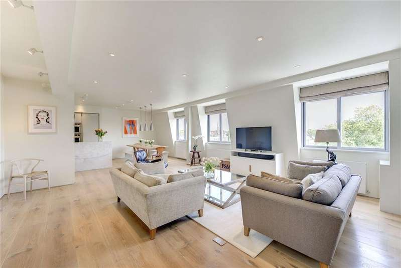 3 Bedrooms Penthouse Flat for sale in Thornbury Court, 36-38 Chepstow Villas, London, W11