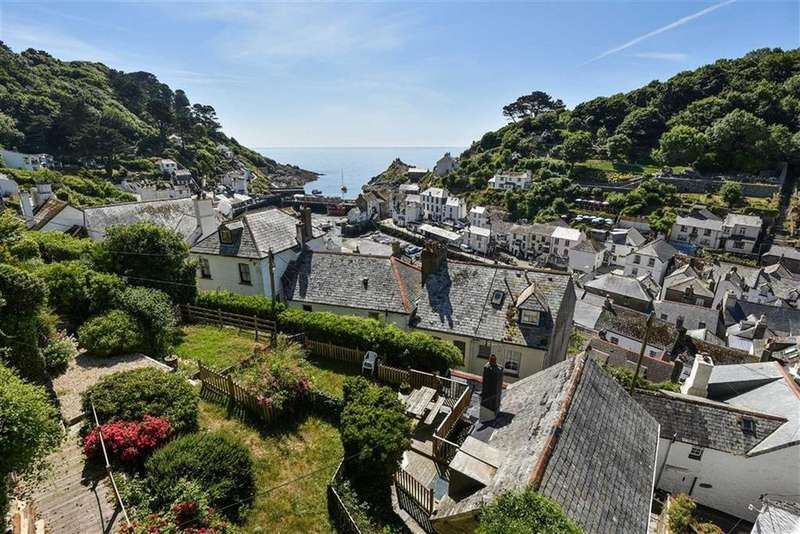 4 Bedrooms Semi Detached House for sale in Talland Hill, Polperro, Looe, Cornwall, PL13