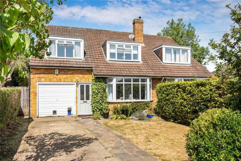 3 Bedrooms Semi Detached House for sale in Orchard Avenue, Berkhamsted, Hertfordshire, HP4