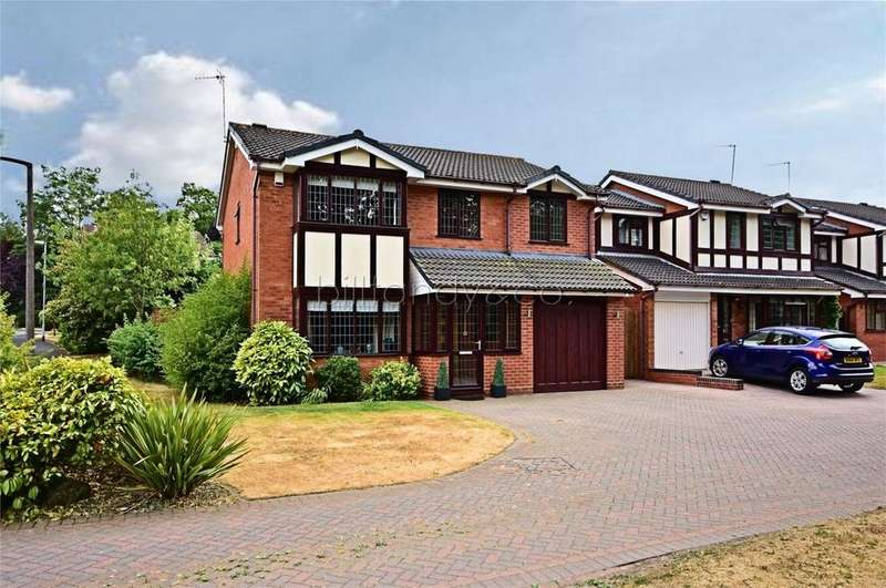 5 Bedrooms Detached House for sale in Boulton Close, BURNTWOOD, Staffordshire