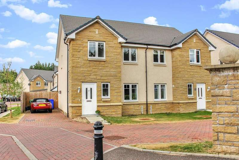 3 Bedrooms Semi Detached House for sale in Glassingall Road, Dunblane, FK15