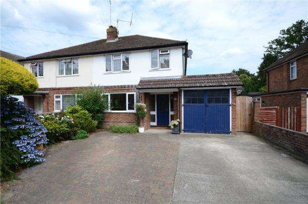 4 Bedrooms Semi Detached House for sale in Albion Road, Sandhurst, Berkshire