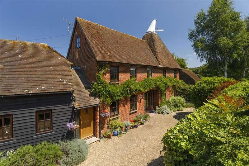 6 Bedrooms Detached House for sale in The Barn And Oast, North Lane, Boughton-under-Blean