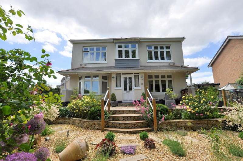 4 Bedrooms Detached House for sale in Saxonhurst Road, Northbourne, Bournemouth