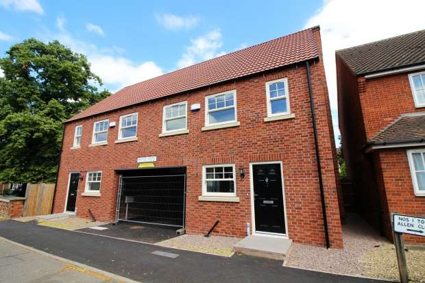 3 Bedrooms Semi Detached House for sale in Wesley Court, Billingborough, Nottinghamshire, NG34 0UJ