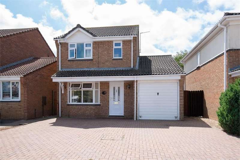 3 Bedrooms Detached House for sale in St Marys Way, Old Leake, Boston, Lincolnshire