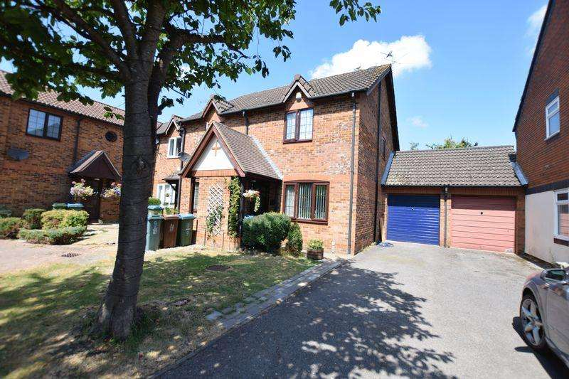 2 Bedrooms Semi Detached House for sale in Pavers Court, Aylesbury