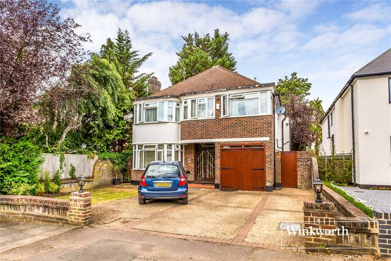 5 Bedrooms Detached House for sale in Rathgar Close, Finchley, London, N3