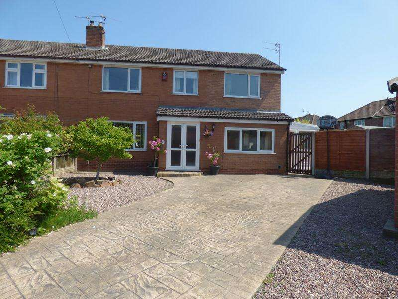 5 Bedrooms Semi Detached House for sale in Brook Drive, Warrington