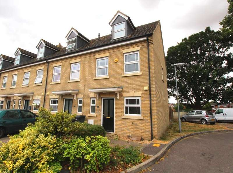 3 Bedrooms End Of Terrace House for sale in Albion Court, Sandy SG19