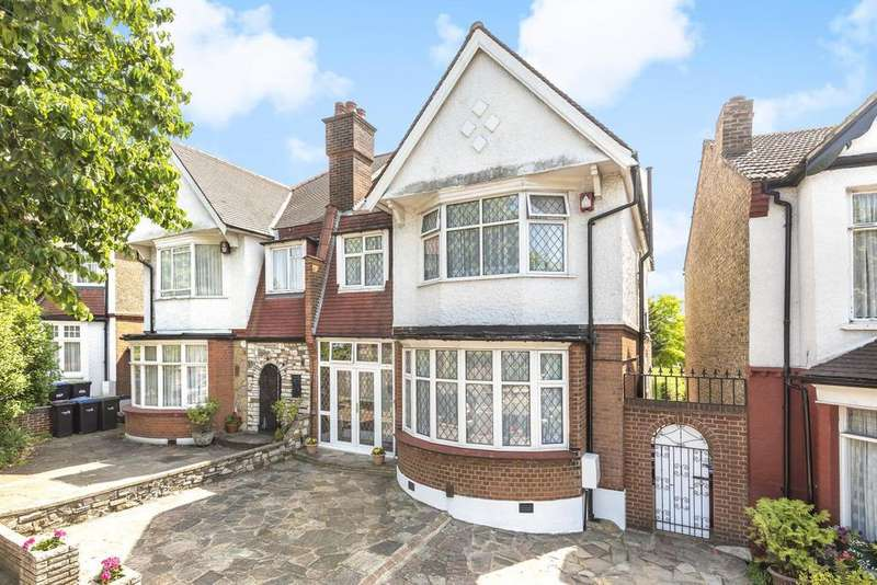 4 Bedrooms Semi Detached House for sale in Broomfield Lane, Palmers Green