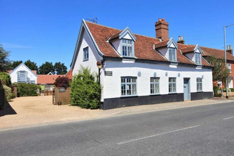 4 Bedrooms Detached House for sale in High Street, Wickham Market IP13 0RF
