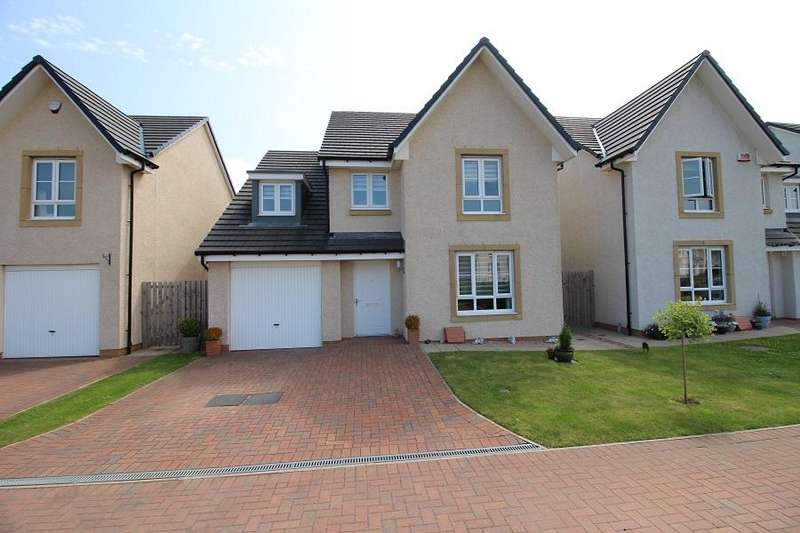 4 Bedrooms Detached House for sale in Lang Drive, Bathgate EH48
