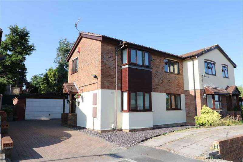 3 Bedrooms Semi Detached House for sale in Whygate Grove, Birches Head, Stoke-on-Trent