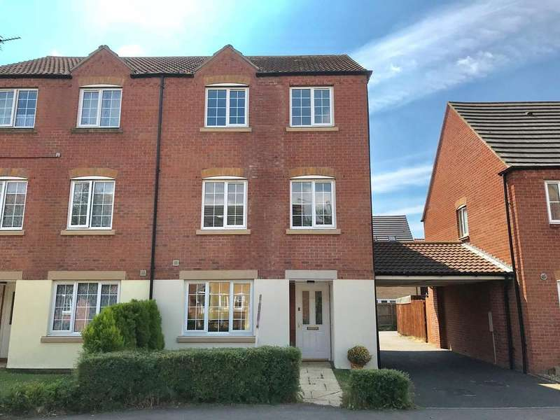 4 Bedrooms Semi Detached House for sale in Saltern Drive, Spalding, PE11