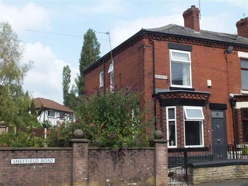 2 Bedrooms End Of Terrace House for sale in Sheffield Road, Hyde