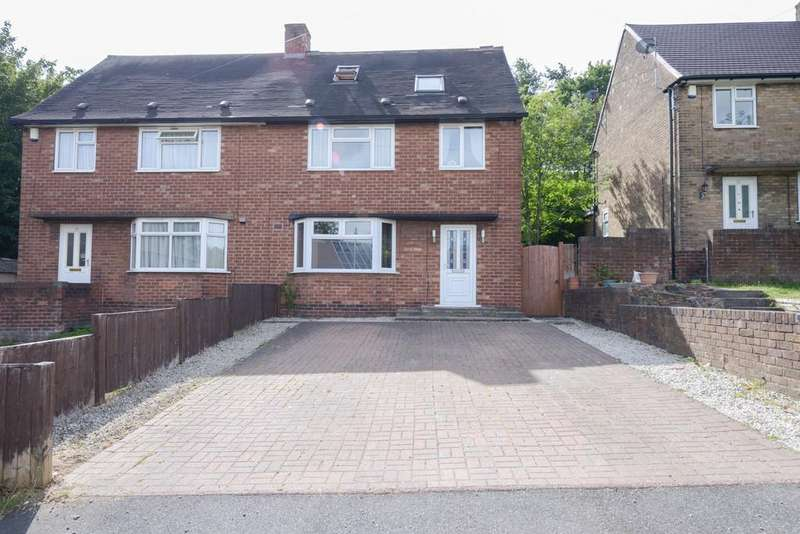 3 Bedrooms Semi Detached House for sale in Coniston Road, Chesterfield