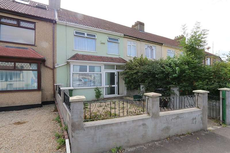 3 Bedrooms Terraced House for sale in Halls Road, BRISTOL, Bristol, BS15 8JD