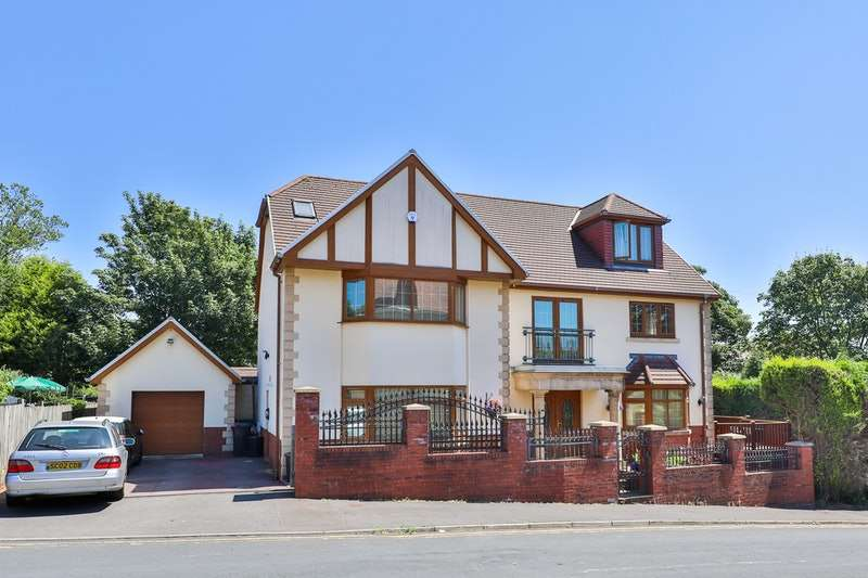 5 Bedrooms Detached House for sale in Coniston Walk, Swansea, Swansea, SA2