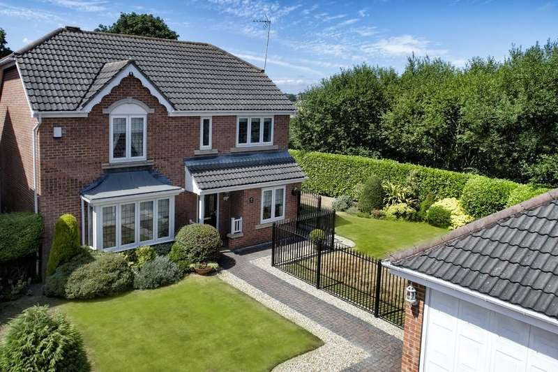 4 Bedrooms Detached House for sale in The Grange, Carlton, Wakefield