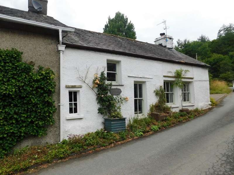 2 Bedrooms Cottage House for sale in Bletherbarrow Cottage, Nibthwaite, Ulverston, Cumbria, LA12 8DB