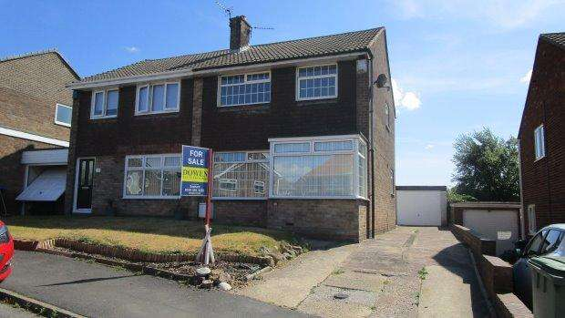 3 Bedrooms Semi Detached House for sale in MELROSE AVENUE, MURTON, SEAHAM DISTRICT