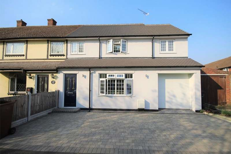 4 Bedrooms End Of Terrace House for sale in Fullarton Crescent, South Ockendon, Essex
