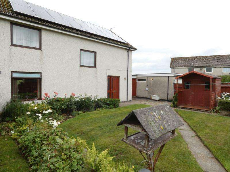 4 Bedrooms Semi Detached House for sale in Tormsdale Place, Thurso