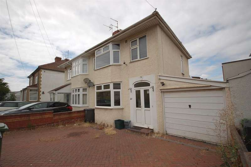 3 Bedrooms Semi Detached House for sale in Douglas Road, Kingswood, Bristol, BS15 8NH