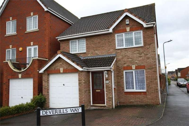 3 Bedrooms Detached House for sale in Deverills Way, Langley, Berkshire