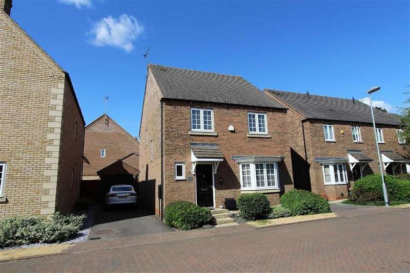 4 Bedrooms Detached House for sale in 1 Bunting Drive, Leighton Buzzard
