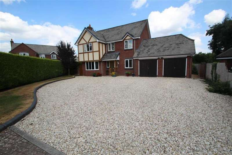 4 Bedrooms Detached House for sale in The Paddocks, PRESTEIGNE, Presteigne, Powys