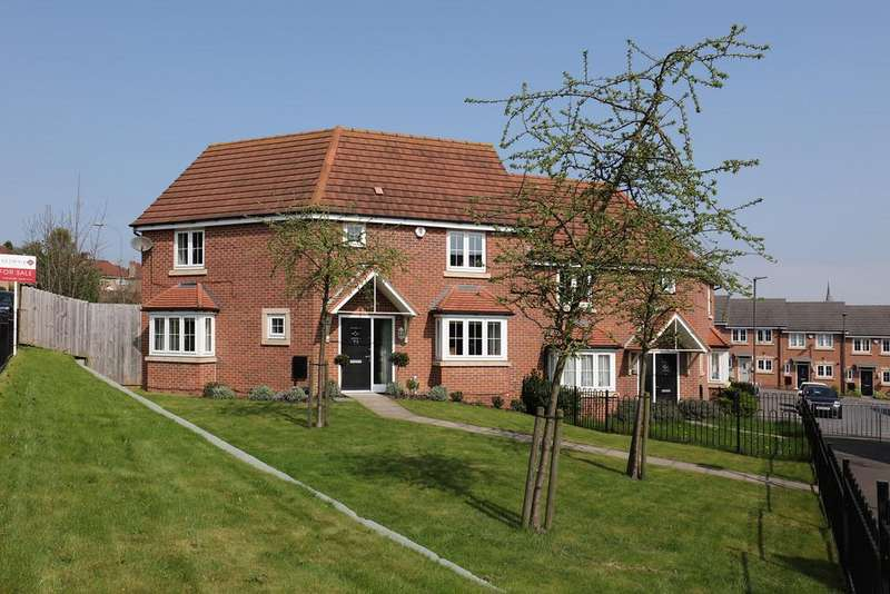 3 Bedrooms Semi Detached House for sale in Baden Powell Road, Chesterfield