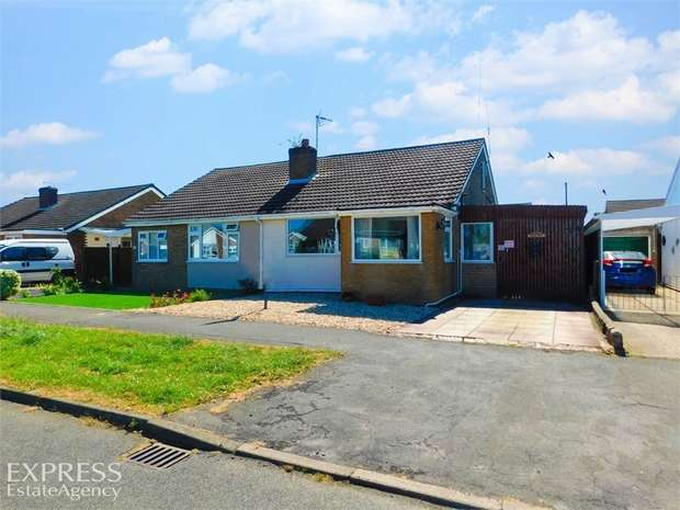 3 Bedrooms Semi Detached Bungalow for sale in Cheltenham Way, Mablethorpe, Lincolnshire
