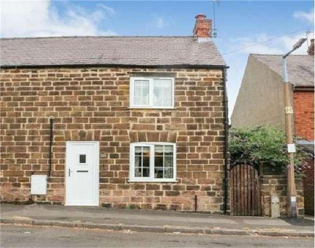 2 Bedrooms Cottage House for sale in Marsh Lane, Belper, Derbyshire
