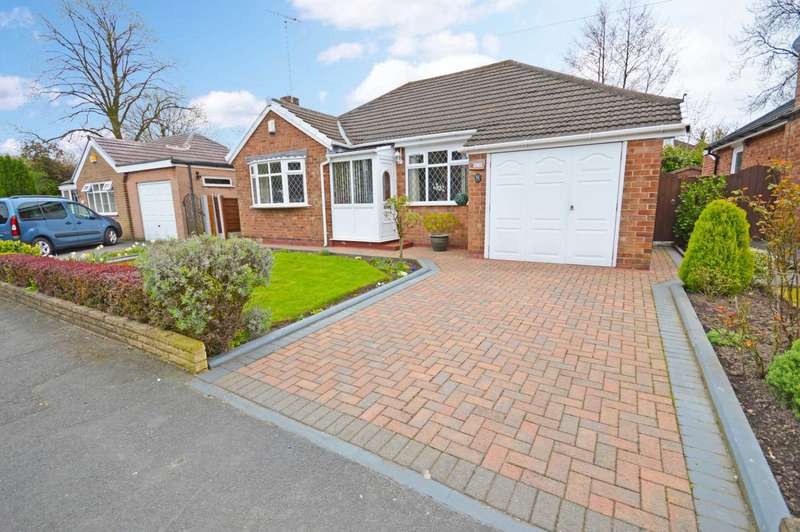 2 Bedrooms Detached Bungalow for sale in Hazelwood Road, Hazel Grove