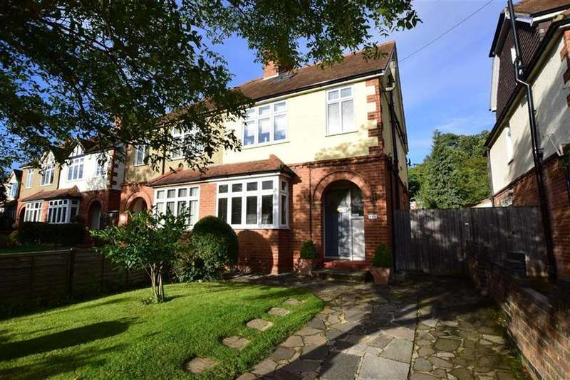 4 Bedrooms Semi Detached House for sale in Hemdean Road, Caversham, READING