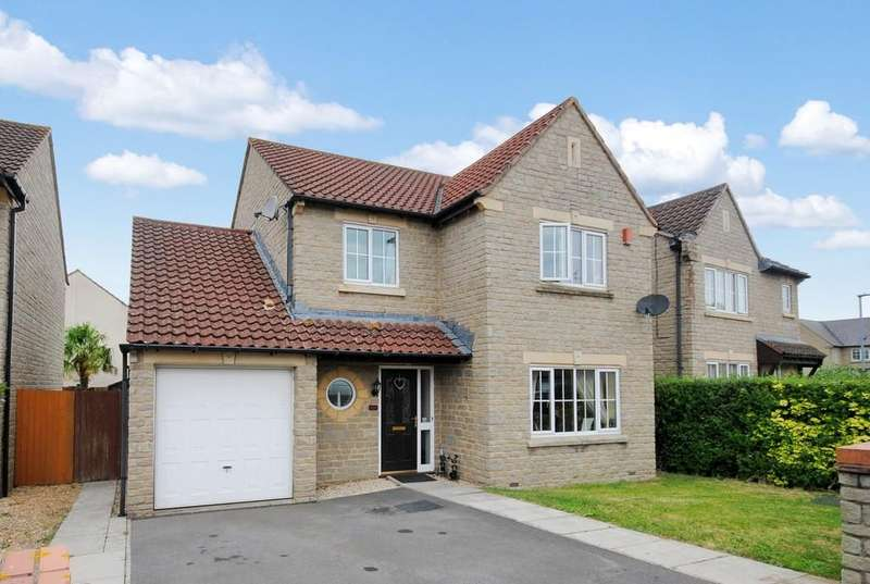 4 Bedrooms Detached House for sale in Saxon Way, Cheddar