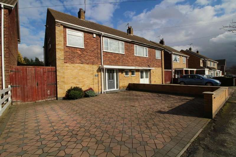 3 Bedrooms Semi Detached House for sale in Castle Road, Mountsorrel