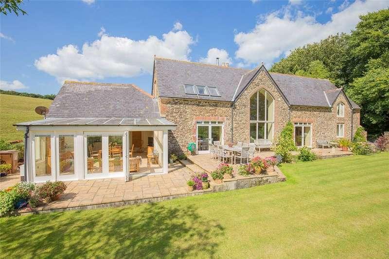 4 Bedrooms Detached House for sale in Huccombe, Kingsbridge, Devon, TQ7