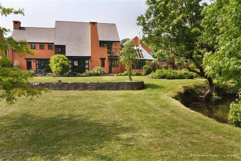 6 Bedrooms Detached House for sale in Cwrt Llanfleiddan, Llanblethian, Vale Of Glamorgan