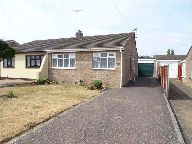 2 Bedrooms Semi Detached Bungalow for sale in Azalea Drive, Burbage
