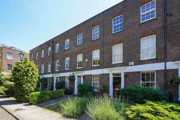 4 Bedrooms Terraced House for sale in Chiswick Wharf, Chiswick