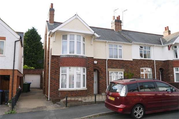 3 Bedrooms Semi Detached House for sale in Morley Street, Market Harborough, Leicestershire