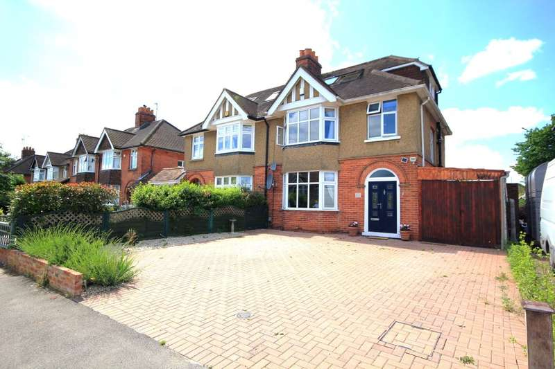 4 Bedrooms Semi Detached House for sale in Kenilworth Avenue, Reading, RG30