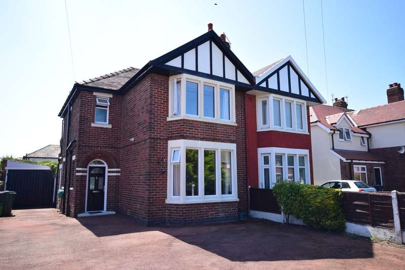 3 Bedrooms Semi Detached House for sale in Blackpool Road North, Lytham St Annes, FY8