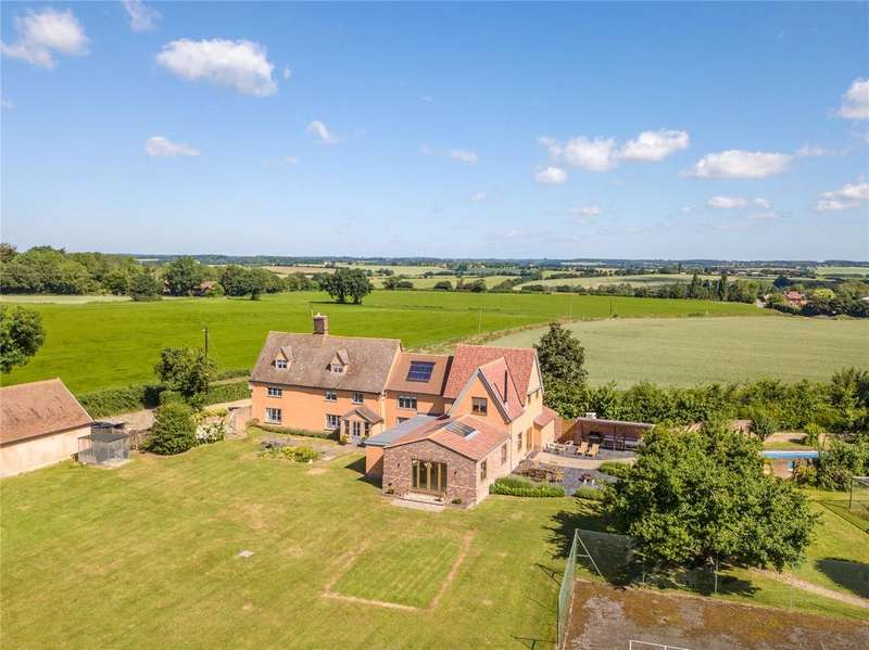6 Bedrooms Detached House for sale in Swingleton Hill, Monks Eleigh, Sudbury, Suffolk, IP7