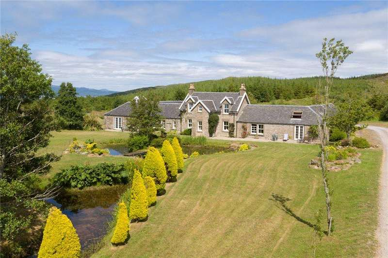 5 Bedrooms Detached House for sale in Achnafad Farm, Tayinloan, By Tarbert, Argyll and Bute