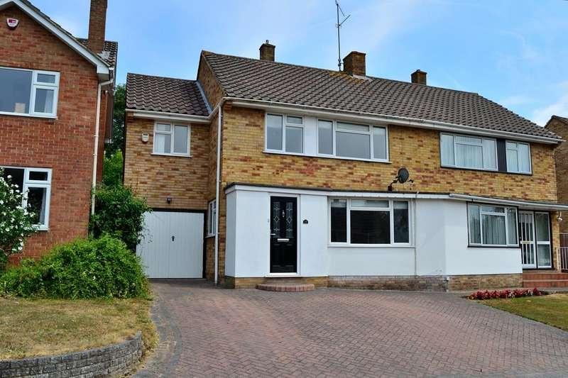 4 Bedrooms Semi Detached House for sale in Andrews Road, Earley, Reading, Berkshire, RG6 7PJ